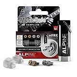 Alpine MusicSafe Tapones para los oídos para músicos - Mejora tu experiencia musical con dos...