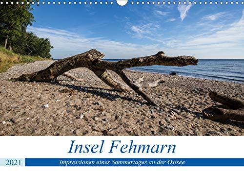 Insel Fehmarn - Impressionen eines Sommertages an der Ostsee (Wandkalender 2021 DIN A3 quer)