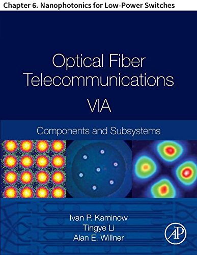 Optical Fiber Telecommunications VIA: Chapter 6. Nanophotonics for Low-Power Switches (Optics and Photonics) (English Edition)
