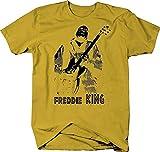 Photo de Freddie King Guitar T Shirt Funny Cotton Tee Vintage Gift for Men
