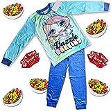 Popsie Slime Surprise Rainbow Unicorn Pijama para niños + 10 Rainbow Treats - Nueva Oopsie Starlight, Rainbow Brightstar, Dazzle Darling PJ Turquesa Turquesa Dazzle Darling 5-6 Años