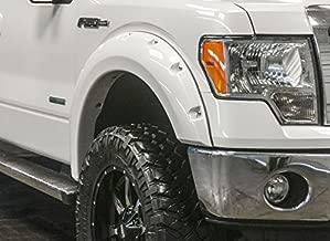 RDJ Trucks HWY-PRO OEM Style Fender Flares Smooth Paintable Black Fits F250//F350 SuperDuty 2011-2016 Set of 4