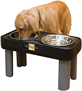 Big Dog Feeder Elevated Pet Dish Made Of Stainless Steel