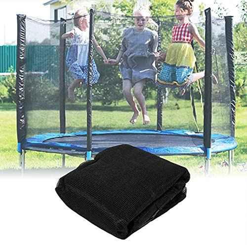 aldi trampolines MYYU Trampoline 15/16Ft Replacement Safety Enclousure Net for 12 Straight Poles Round Frame Trampolines (Net Only)