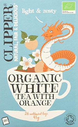 Clipper Tè Bianco All'Arancia - 30 g, confezione da 1