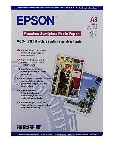 Epson A3 Premium Semigloss Photo, C13S041334