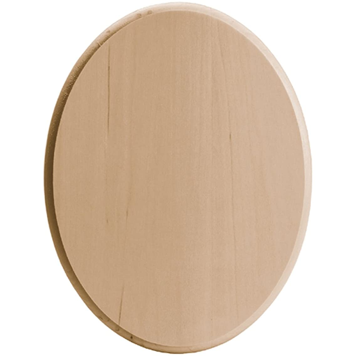 Walnut Hollow Basswood Oval Plaque, 8