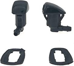7133-232314A Pack of 2 Front Windshield Washer Sprayer Nozzle Kit for 2008-2012 Chevrolet Malibu 2005-2010 Pontiac G6 2007-2009 Saturn Aura Replace OE#15247800 55156427AB