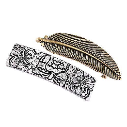yotijar Pinza de Pelo de Horquilla Esculpida de Vikingo Celta
