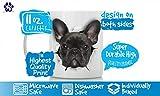 Immagine 2 divertente nero bulldog francese tazza