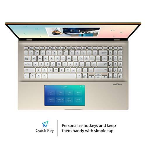 "ASUS VivoBook S15 Thin & Light Laptop, 15.6"" FHD, Intel Core i5-8265U CPU, 8GB DDR4 RAM, PCIe NVMe 512GB SSD, Windows 10 Home, S532FA-DB55-GN, Moss Green"