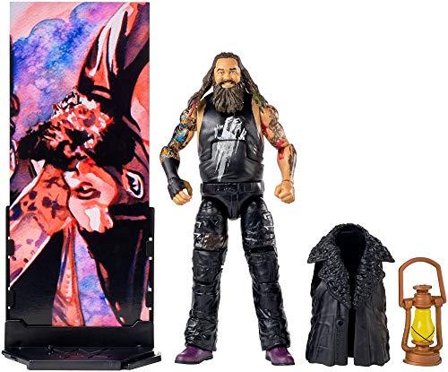 Mattel FMG29 WWE Bray Wyatt 15 cm Elite Figur, Spielzeug Actionfiguren ab 6 Jahren