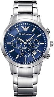 Empоrio Armani classic blue dial quartz watch AR2448