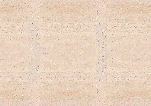 Simaru Kork/Korkstoff - Eine edle, vegane Leder Alternative - in vielen Farben (weiß, 50 x 30 cm)