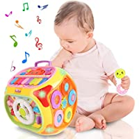 Baoli 7 in 1 Baby Musical Activity Cube Toy with Piano Light Music
