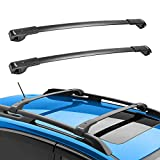 BougeRV Car Roof Rack Cross Bars for 2014-2021 Subaru Forester, Aluminum Cross Bar for Rooftop Cargo Carrier Luggage Kayak Canoe Bike Snowboard