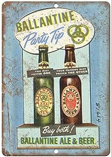 VEHFA Ballantine Ale & Beer Vintage Ad 8