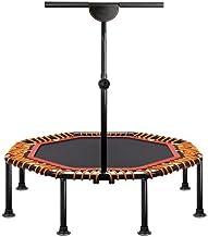 Huoguoshu Fitness trampoline, opvouwbaar, stille rubberen touwvering, 5-voudig in hoogte verstelbare handgreep, diameter c...