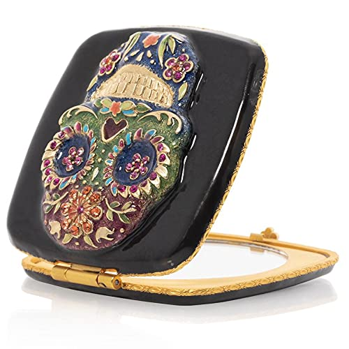 Spring new work Jay Strongwater OFFer Skull Compact
