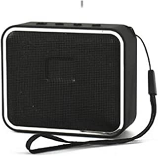 New Bluetooth Speaker Fashion Colorful Wireless Mini Bluetooth Speaker Outdoor Portable Bluetooth Speaker,Black