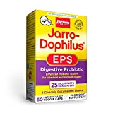 Jarrow Formulas Jarro-Dophilus EPS Higher Potency - 25 Billion Organisms Per Serving - 60 Veggie Caps - Multi-Strain Probiotic - Intestinal & Immune Health - 60 Servings