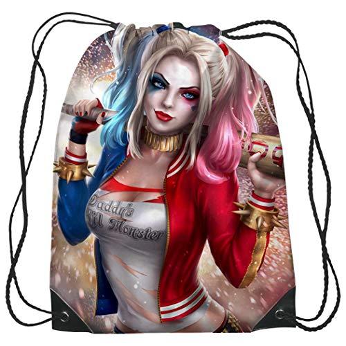 51BqFnEb3QL Harley Quinn Backpacks for School