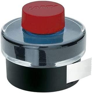 Lamy Bottled Ink 50Ml Red W/Blotting Paper