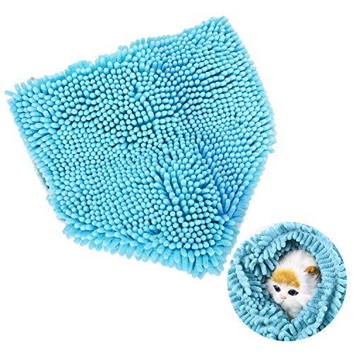Boodtag Mikrofaser Hundehandtuch Hautier Trockentuch Schnell Trocknend extrem saugfähig Blau Lila Rosa 60cm,80cm