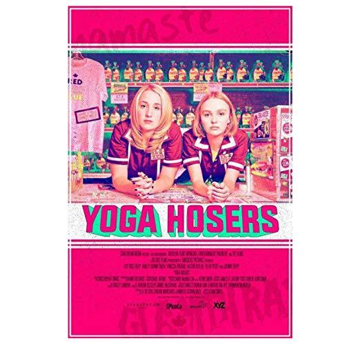 DNJKSA Yoga Hosers película clásica impresión en Lienzo póster artístico imágenes de laSala de Estar decoración del hogar 20x30 en sin Marco
