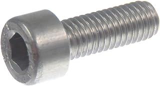 Precisiongeek Tornillo para pulgar de hombro de acero inoxidable M5 x 19 mm 4pz