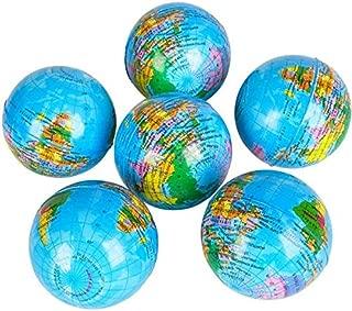 Rhode Island Novelty 3 Inch Squeeze Globe (1 Dozen) - Bulk
