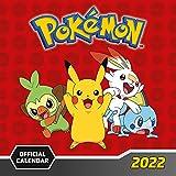 Calendario Pokemon 2022 - Calendario 2022 pared, Calendario 12 meses, Calendario anual, Producto con licencia oficial: Original Danilo-Kalender ... (The Official Pokemon Square Calendar 2022)