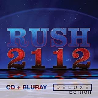 2112 [CD + 5.1 Audio Blu-Ray Deluxe Edition] by Rush (2012) Audio CD