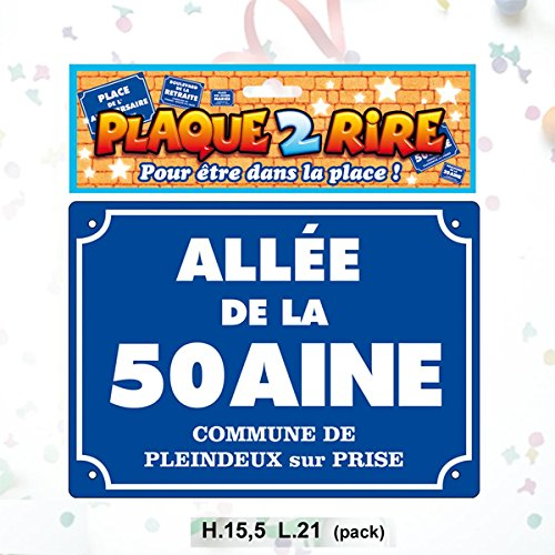 Plaque Metal 15x21 Cm Allée De La 50 Aine Commune De Pleindeux Sur Prise