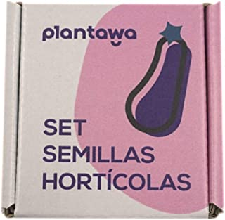 PLANTAWA Set de Semillas Hortícolas, Semillas de Hortalizas, 12 Variedades de Semillas para Huerto Urbano, Mezcla 100% nat...