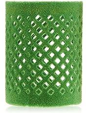 Efalock Professional Metallrullare flockad, 50 mm, grön, 1-pack, (1 x 12 stycken)