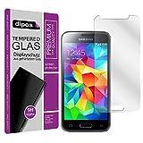Protector de Pantalla compatible con Samsung Galaxy S5 Mini Dipos® Premium Cristal Vidrio Templado