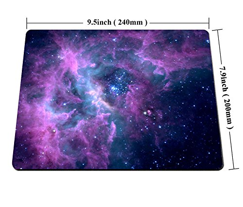 Smooffly Mouse Pad Purple Galaxy Customized Rectangle Non-Slip Rubber Mousepad Gaming Mouse Pad Mat Photo #6