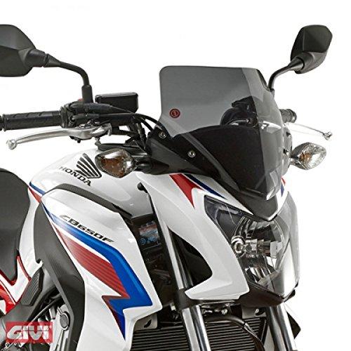 Givi Scheibe Windschutz mit Anbausatz schwarz für Honda CB 650 F