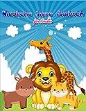Niedliche Tiere Malbuch für Kinder: 60 super lustige Tiere zum Ausmalen für Kinder ab 4 Jahren! Dient auch als Kopiervorlage für PädagogInnen