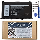 KYTD 357F9 Battery Replacement for Dell Inspiron 7000 Dump 15 7566 7567 7557 7559 I7559 5576 5577 INS15PD-1548B 1548R 2748R 1748B 1748R 2548R 2548B Series Gaming Laptop 0GFJ6 71JF4[11.1V 74Wh]