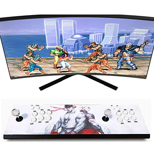 Wsaman MáQuina Juego De Lucha, Juegos CláSicos Consola De Videojuegos para Consola con Joystick Fighting Consola Juegos Consola De Videojuegos Arcade Home Arcade Game Console,1