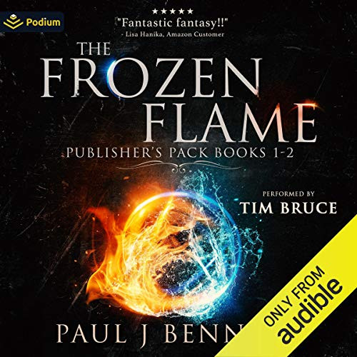 The Frozen Flame: Publisher's Pack Audiobook By Paul J. Bennett cover art