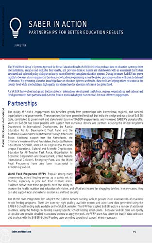 Partnerships for Better Education Results (English Edition)