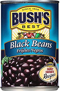 12-Pack Bush's Best Black Beans, 15 Ounce