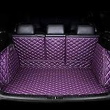 Alfombrillas Para Maletero De Coche De Cuero para Volvo Todos Los Modelos S60 S80 C30 S40 V40 V60 Xc60 Xc90, Cobertura Total Impermeable Maletero ProteccióN Estera, Coche Interior Accesorios