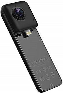 Insta360 NanoS 360 VRカメラ, 4K解像度 20MP写真 対応機種iPhone 6/7/8/X シリーズ, iOS 9.0以上