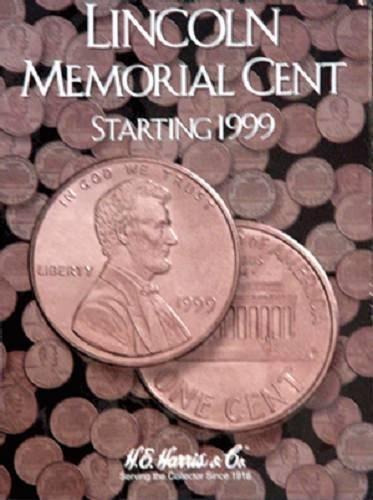 H.E. Harris Lincoln Memorial Cent#2 Coin Folder 1999-2008