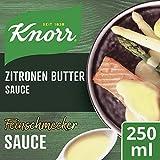 Knorr Feinschmecker Zitronen Butter Soße, 1er-Pack (1 x 250 ml)