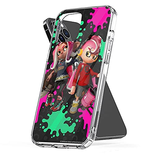 Phone Case Compatible with iPhone 7 11 Xr 6 X 2020 8 Se 12 Splatoon 6s 2 Plus Octo Xs Expansion Pro S Max & Mini - More 13 Pro Max 13 Mini Drop 13 Pro Max 13 Mini Shock Samsung S21